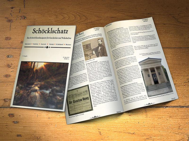 3. Ausgabe Schöcklschatz Magazin