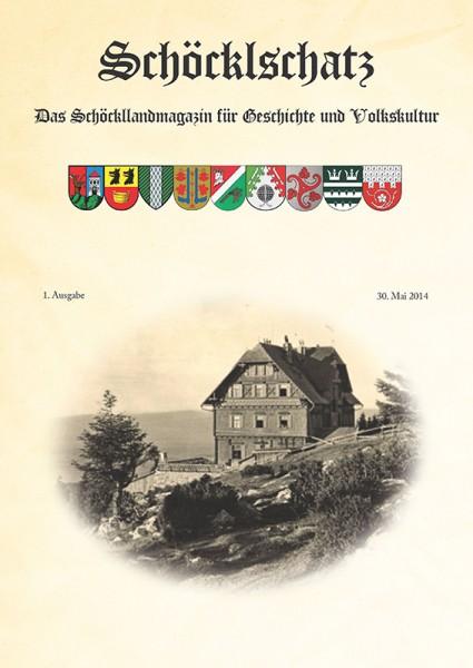 Cover 1. Ausgabe Schöcklschatz Magazin