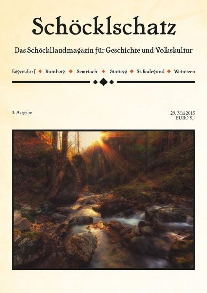 Cover 3. Ausgabe Schöcklschatz Magazin