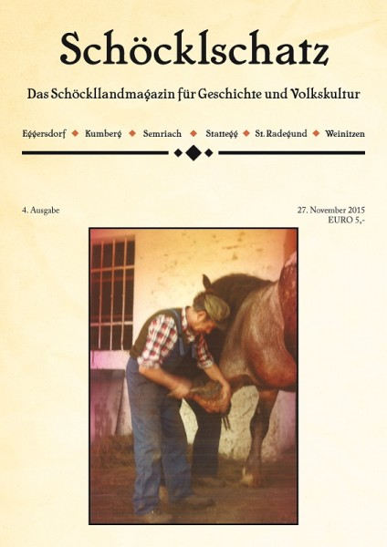 Cover 4. Ausgabe Schöcklschatz Magazin