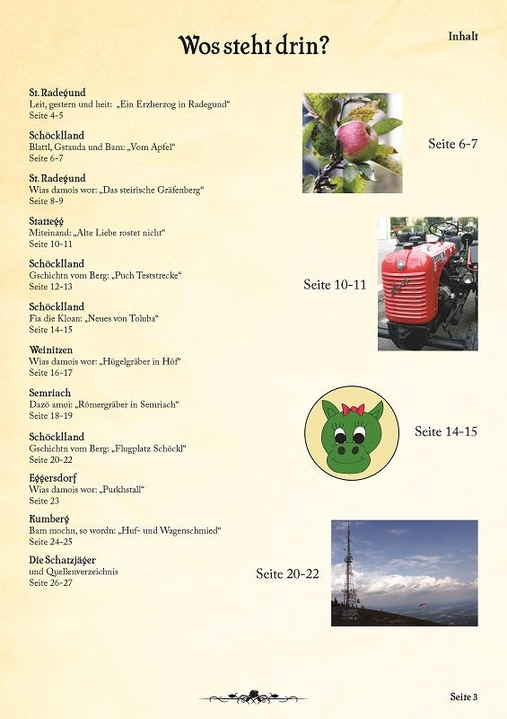 Inhaltsverzeichnis 4. Ausgabe