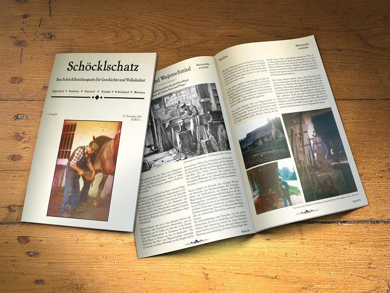 4. Ausgabe Schöcklschatz Magazin