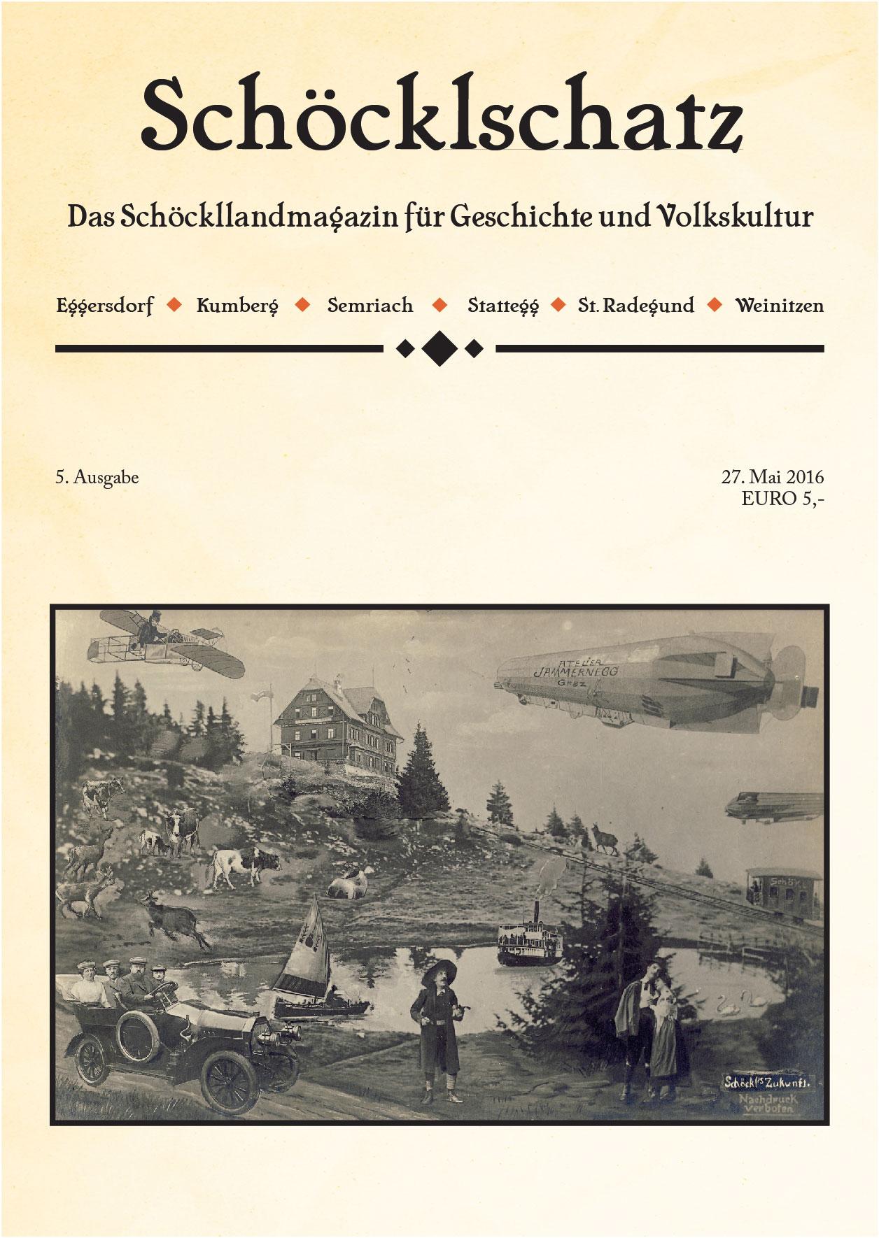 Cover 5. Ausgabe