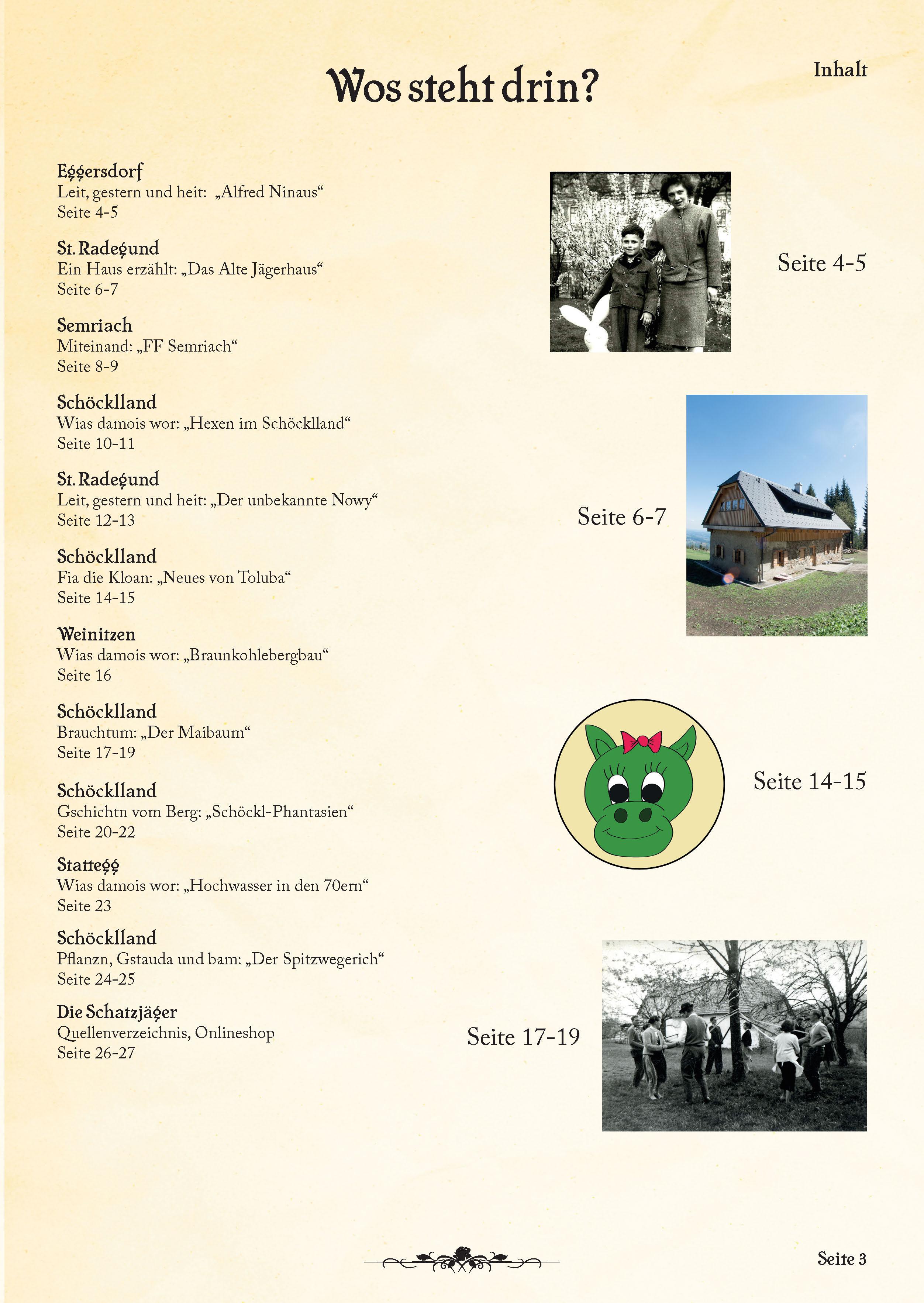 Inhaltsverzeichnis 5. Ausgabe