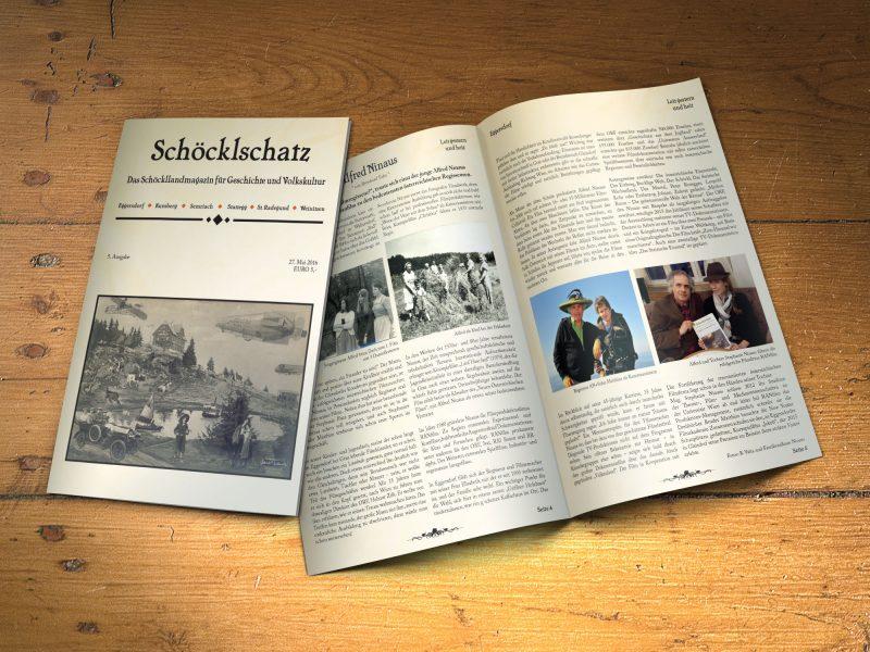 Mock-up Schöcklschatz 5. Ausgabe
