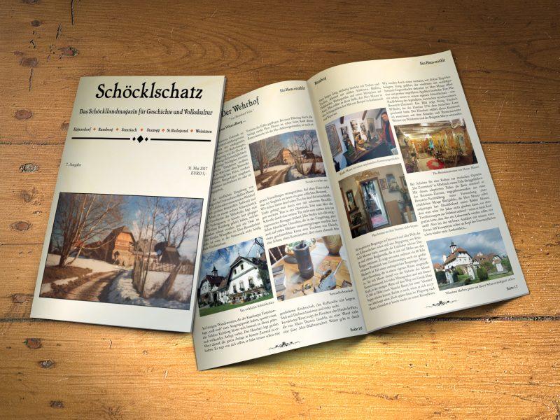 Mock-up Schöcklschatz 7. Ausgabe